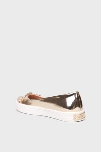 ef2d139a4638 Guess Slip on topánky Guess zlaté - Glami.sk