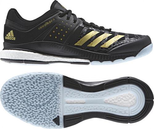 Pánské sálové boty adidas Performance crazyflight X (Černá   Zlatá   Šedá) 02d0a7ec10