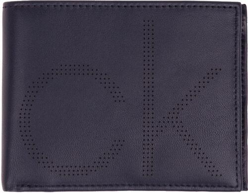 Calvin Klein tmavo modrá pánska peňaženka CK Point 5CC Coin - Glami.sk dbdf2149ca6