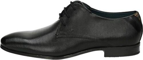 9316e1939c72 Bugatti pánske kožené spoločenské topánky - čierne - Glami.sk