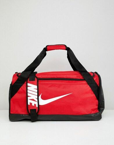 Nike Red Swoosh Logo Duffle Bag - Red - Glami.cz 1ae8b0bcdbb36
