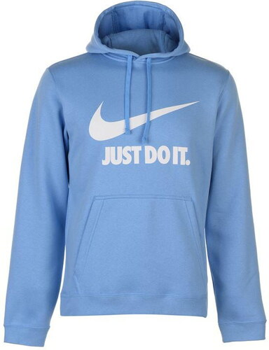 mikina Nike JDI Over The Head Hoodie pánská Blue - Glami.sk 8e31e9fb930