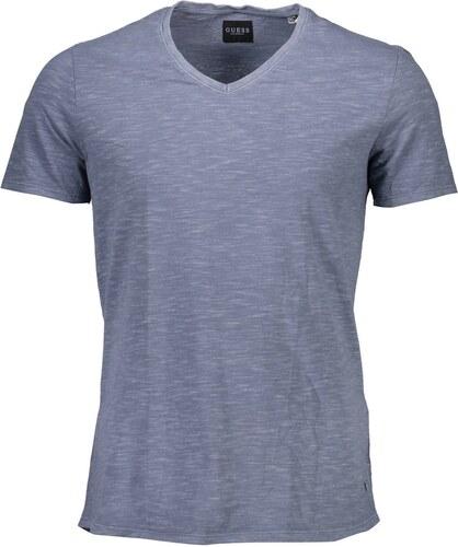 69ffdbd245 elegantní tričko Guess azzuro - modré - Glami.cz
