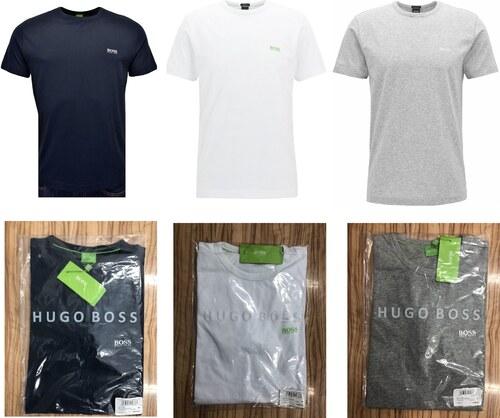 1d746d6de9 Pánská trička HUGO BOSS 3 Pack - navy   bílá   šedá - Glami.cz