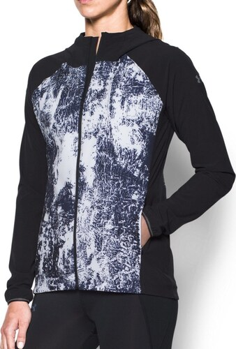 Nové Bunda s kapucňou Under Armour Outrun The Storm Printed Jkt 1304715-001 71b343a8424