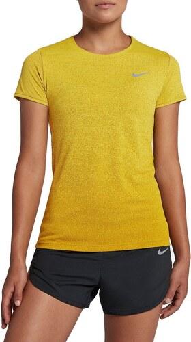 Tričko Nike W NK MEDALIST TOP SS 928950-740 - Glami.sk a89643d5896