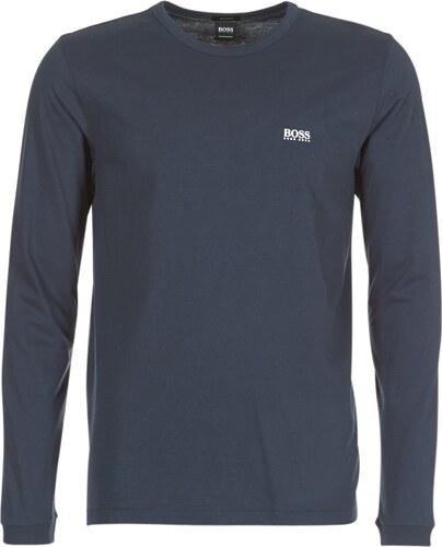 b90c88286a Pánské tričko Hugo Boss s dlouhým rukávem - navy - Glami.cz