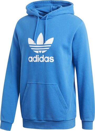 adidas Trefoil Hoody modrá M - Glami.cz 69cdddd1d44