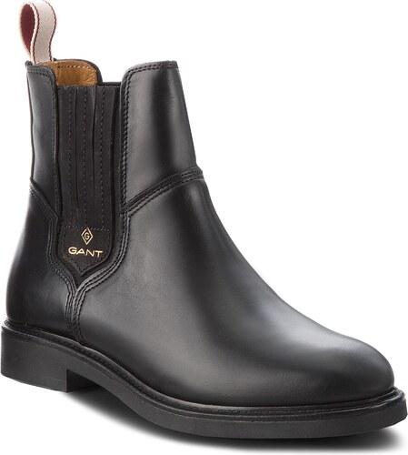 68f77643e2 Kotníková obuv s elastickým prvkom GANT - Ashley 17551832 Black G00 ...