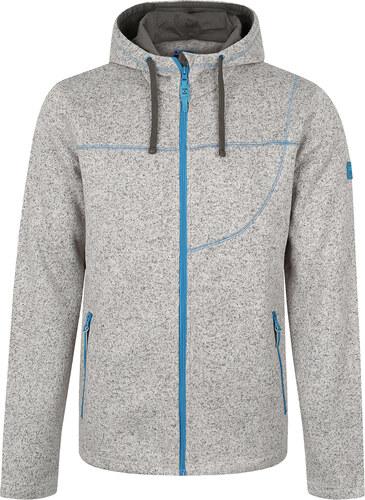 LOAP GOSIP pánský sportovní svetr s kapucí šedá - Glami.cz 2ff7630845