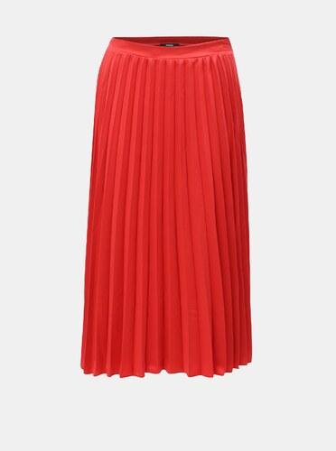 f6e3b7e680b9 Červená plisovaná sukně ZOOT - Glami.cz