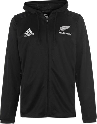 a5e8022690 Melegítő felső adidas New Zealand All Blacks Zip Hoodie Mens - Glami.hu