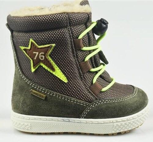 d1452f92bb Primigi Chlapčenské zimné topánky - zelené - Glami.sk