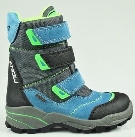 6f871d2383d42 Primigi Chlapčenské zimné topánky - modré - Glami.sk