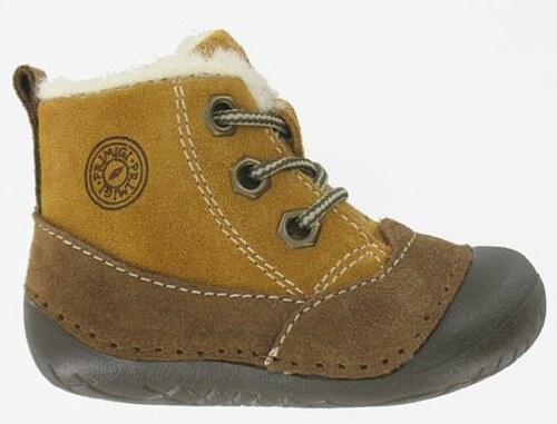 Primigi Chlapčenské zimné topánky - hnedé - Glami.sk fe55e96ab73