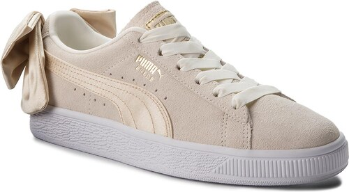 2dc6effd0ff5 -30% Sneakersy PUMA - Suede Bow Varsity Wn s 367732 03 Marshmallow Metallic  Gold