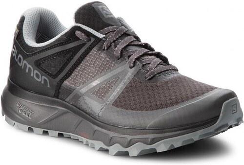 Pánská Treková obuv Salomon TRAILSTER GTX Magnet Black Quarry - Glami.sk 4d486b562b