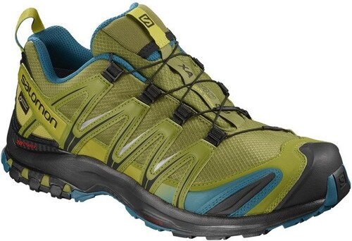 d99f8b1e637 Pánská Treková obuv Salomon SHOES XA PRO 3D GTX Guacamole Deep Lagoo ...