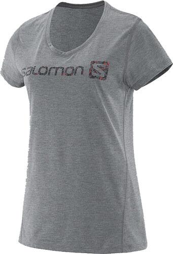 Salomon Elevate Ss Tech Tee W sivá XS - Glami.sk fe3bd095de