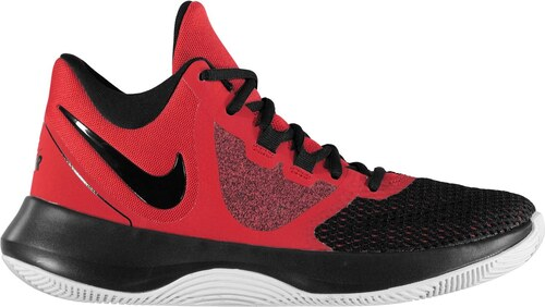 -13% basketbalové boty boty Nike Air Precision II Shoes pánské Red Wht Black 1094e7a61d3