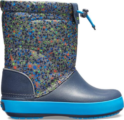 Dětské boty Crocs CROCBAND LodgePoint tmavě modrá - Glami.cz eb09be088b