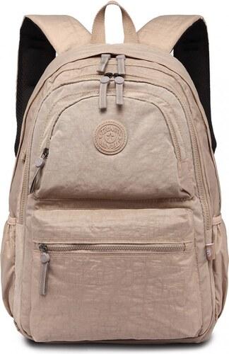 Miss Lulu Bags Voděodolný batoh na notebook - 1733 khaki - Glami.cz 10d2287c74