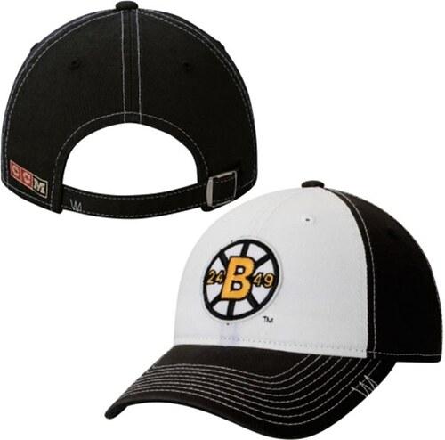 e36f7ee6b CCM Boston Bruins detská čiapka baseballová šiltovka black Vintage Slouch