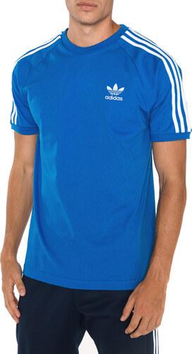 7b0cc16666 Férfi adidas Originals 3-Stripes Póló Kék - Glami.hu