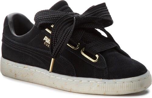 1e881fd5a23967 Sneakers PUMA - Suede Heart Celebrate 365561 01 Puma Black Puma Black
