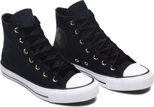 Converse černé kotníkové tenisky Chuck Taylor All Star Hi Black White - 39 0c1a026abc