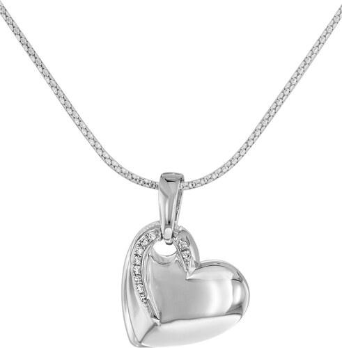 trendor Silber Herz Anhänger mit Kette 66301 - Glami.de 02fd00f594