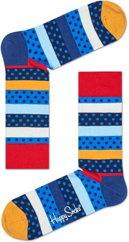 -30% Barevné ponožky Happy Socks s puntíky a pruhy 9e3d6b2811