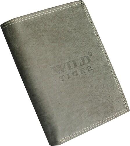 14dc1ea523 Pánska peňaženka Wild Tiger AM-28-034 - svetlosivá AM-28-034 ...