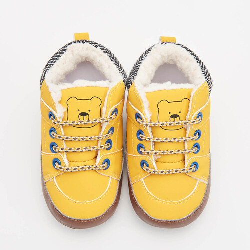 7dc8c0dd28 Reserved - Zateplené topánky nad členok - Žltá - Glami.sk