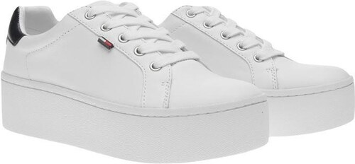 Dámské boty Tommy Hilfiger Icon Sneaker Ld84 Bílé - Glami.cz 36f7f0ddf0