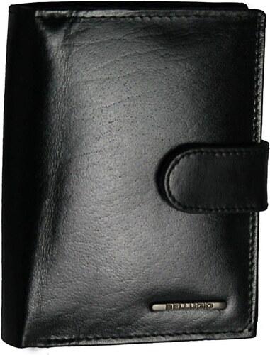 fea5914ac Lesklá vertikálna pánska peňaženka Bellugio - čierna AM-40-123A-1348_1744