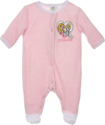 Egyéb márka Hercegnős rózsaszín plüss rugdalózó - Glami.hu f4fc25f506