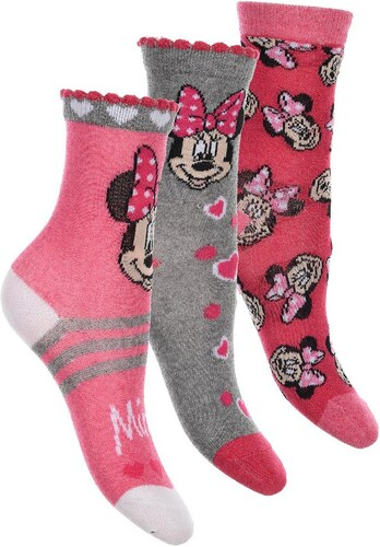 Egyéb márka Minnie-szürke-csíkos zokni szett - Glami.hu 66f8177e93