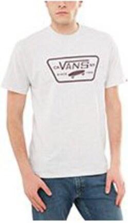 Pánské tričko Vans FULL PATCH ASH HEATHER POART ROYALE XL - Glami.cz cd3c6063ffd