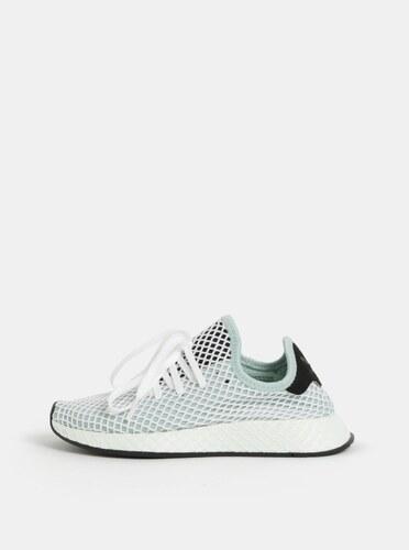 Bielo-mentolové dámske tenisky adidas Originals Deerupt Runner ... d048fb085dd