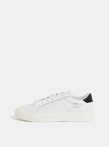 Biele dámske kožené tenisky adidas Originals Everyn - Glami.sk 917b607284f