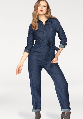 77c61e83d54 G-Star RAW Overal »Tacoma Jumpsuit« rinsed - Glami.cz