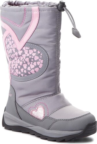 Sněhule GEOX - J Orizont B G.Abx A J842BA 0FU50 C0502 S Grey Pink ... cb61bfb8b4