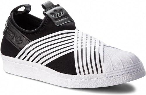 Cipő adidas - Superstar Slip On W D96703 Cblack Ftwwht Ftwwht - Glami.hu d8af5bb969
