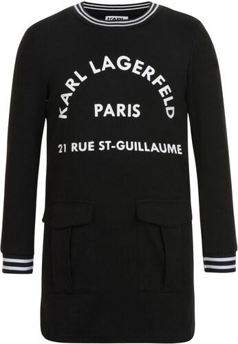 Karl Lagerfeld Girls Skool Pocket Dress Black - Glami.cz 24d3fec56f4