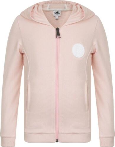 Karl Lagerfeld Girls Skwl Team Hooded Sweatshirt Pale Rose - Glami.cz 5eac73ea4c4