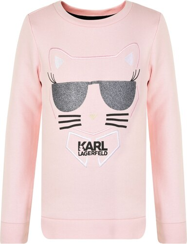 Karl Lagerfeld Girls Choupette Sweater Pink 44L 347829 - Glami.cz 0b2d8e04e10
