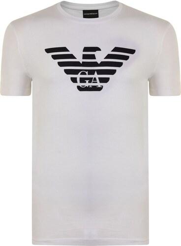 66d574cf3944 Tričko s krátkým rukávem Emporio Armani Eagle Logo T Shirt - Glami.cz