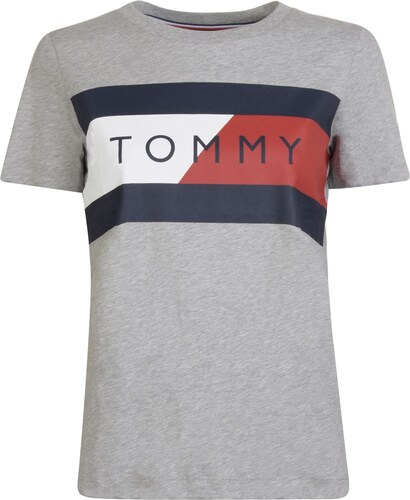 Tommy Hilfiger T Shirt Grey 607976 - Glami.sk 16cd2ea1259