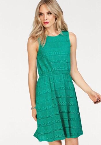 3008fd55404f Only Čipkované šaty »NIELLA« smaragdová-zelená - Glami.sk